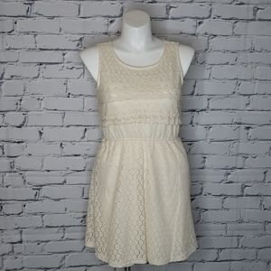 Lacey Ruffle Dress